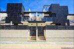 Modernes Stadthaus mit Garage und Solarium