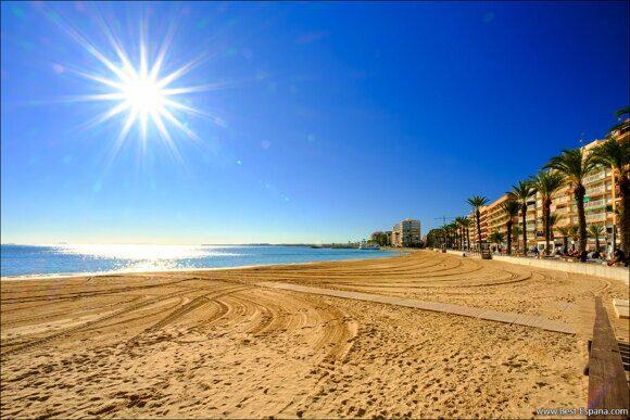 Immobilien in Torrevieja 2021 del Cura Strand