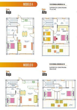 Villa Layout Immobilien Spanien