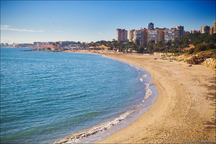 Spain sea beach Campoamor 01 photography