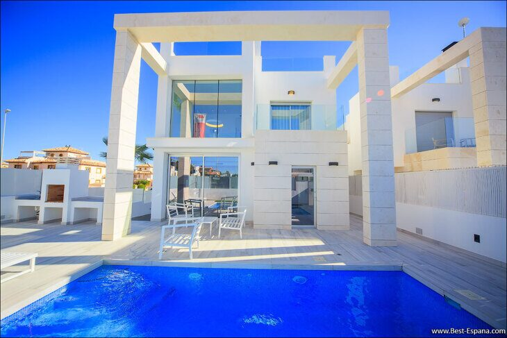 new-property-Spain-villa-high-tech-luxury-Cabo Roig-03 photo