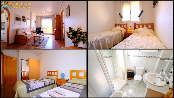 Photos Apartment in Torrevieja with 2 bedrooms