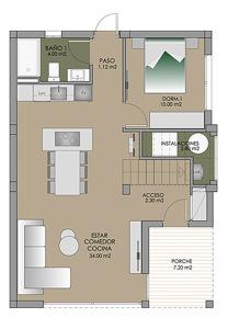Grundriss einer Villa in Spanien 01 punta prima