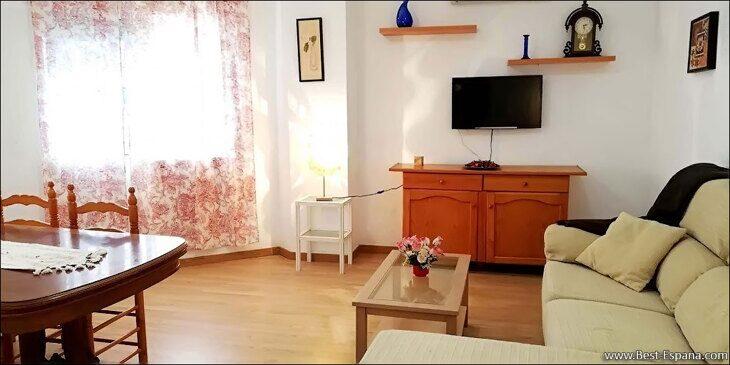 Stock Foto Low-Cost-Wohnung in Torrevieja in 500 Meter vom Meer entfernt