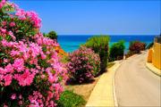 Spain sea beaches of Cabo Roig and Campoamor 01