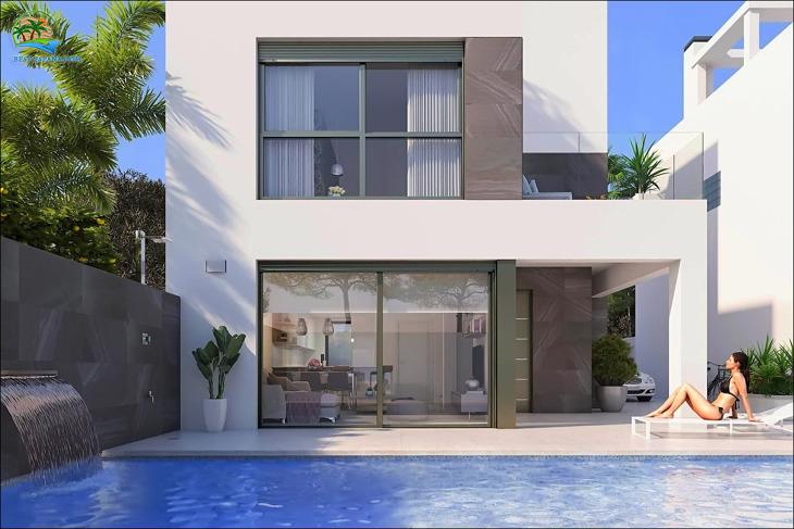 Fotos Neue Villen in Punta Prima mit Pool, Solarium