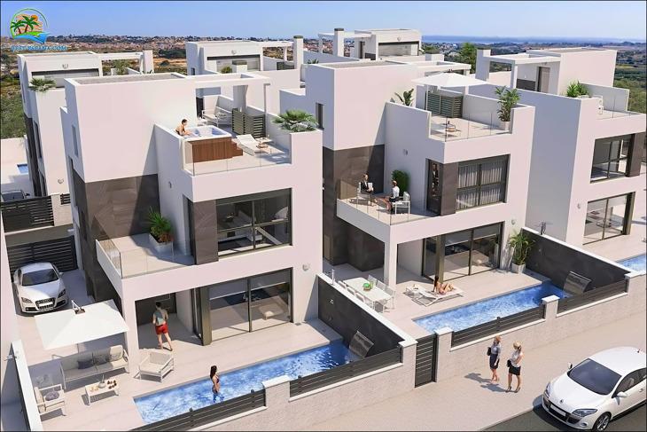 Neubau in Spanien Villa 4 Schlafzimmer 02 Foto