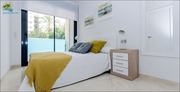Apartments in Spain in a new building 17 photo