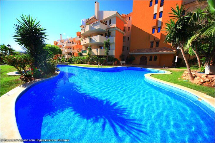 Stock Foto New apartment in Spain in Punta Prima