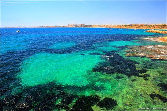 Buchten zum Tauchen in Spanien