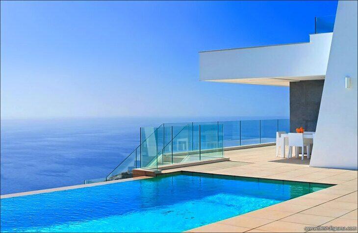 Stock Foto Luxury villa in cumbre del sol