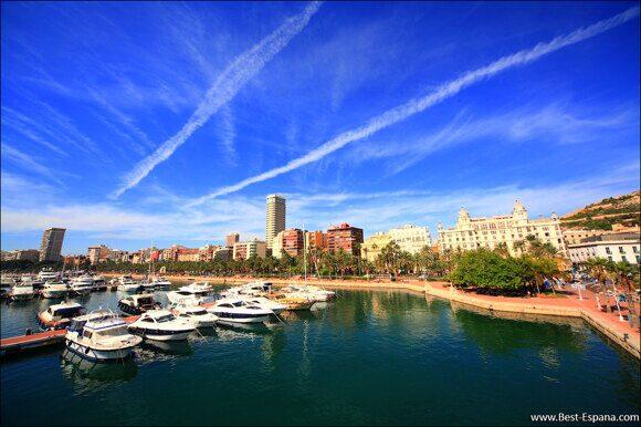 Alicante Spanien Costa Blanca 05