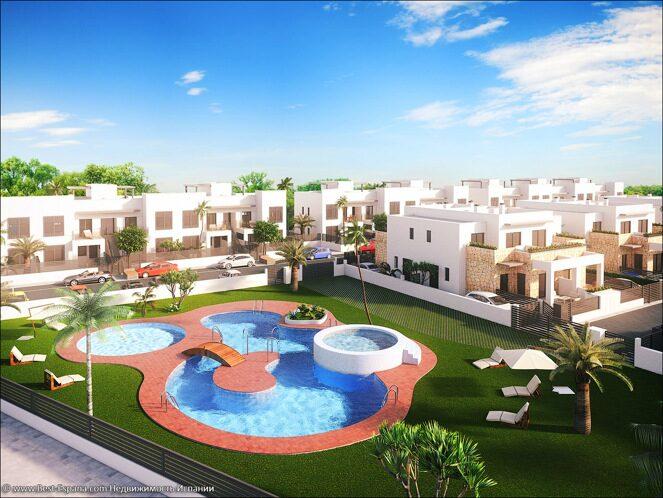 Stock Foto Neue Wohnungen in Torrevieja