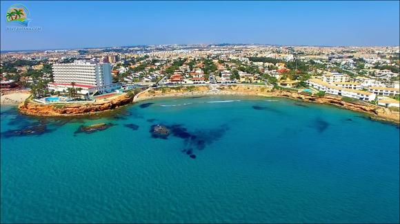 Spanien strand La Zenia med drönare 18