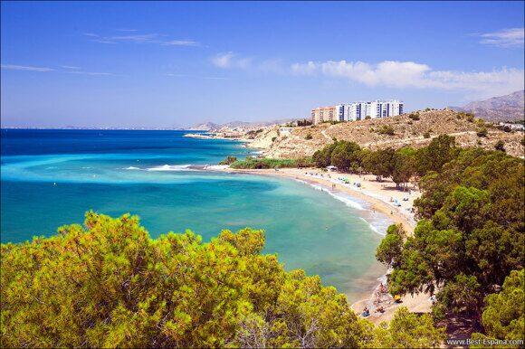 der beste strand spaniens