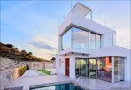 Ultra modern villa in Spain Finestrat 18