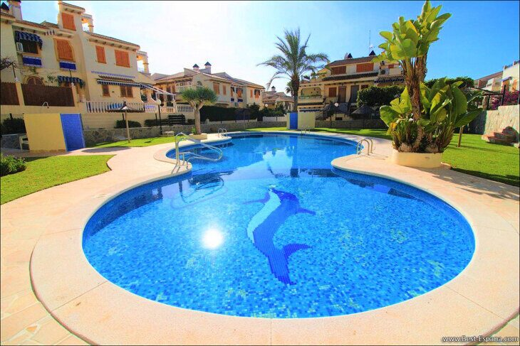 Stock Foto Studio apartment in Torrevieja by the sea