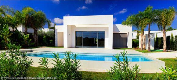 Luxusvilla in Spanien am Meer