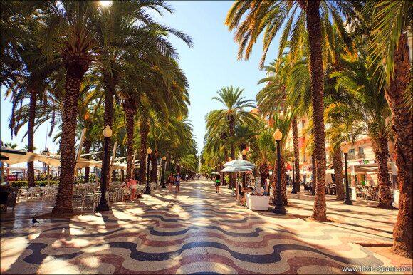 Alicante Spanien Costa Blanca 06