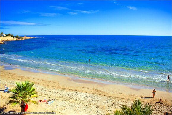 Egendom i Spanien vid havet