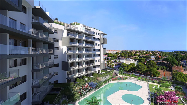 Photo New apartments in Spain in an elite new building