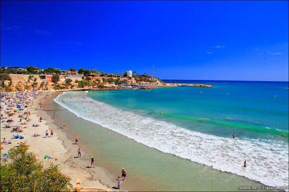 Cabo Roig Strand in Spanien