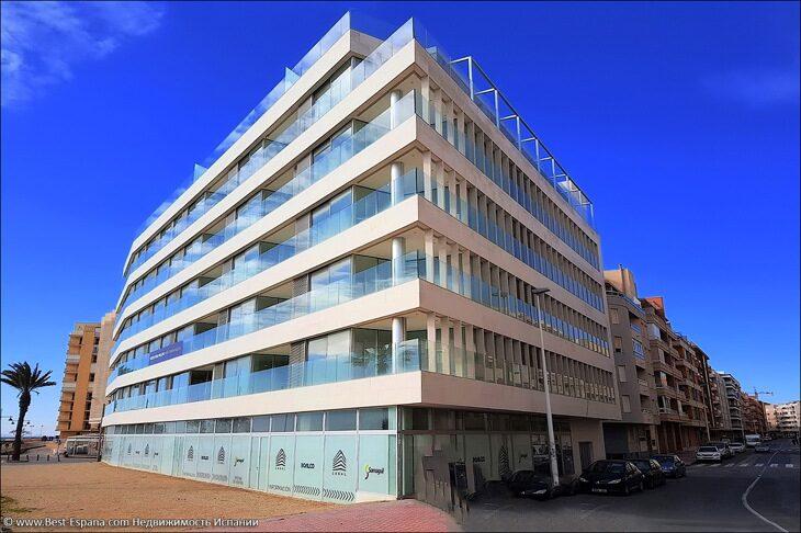 Stock Foto Wohnung in Spanien am Meer