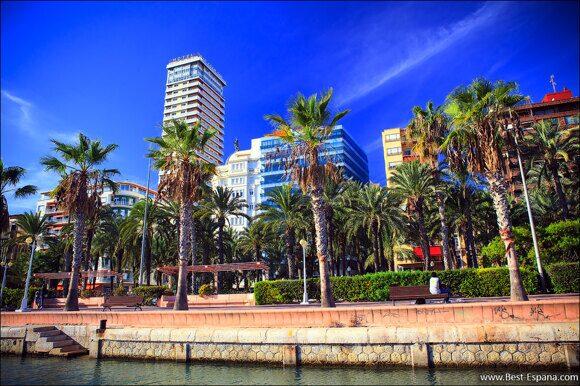 Alicante Spanien Costa Blanca 04