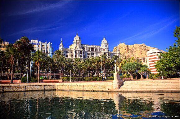 Alicante Spanien Costa Blanca 03