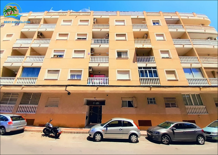 Stock Foto Preiswerte Wohnung in Spanien in Torrevieja