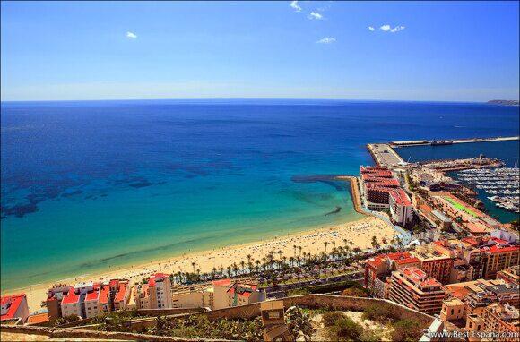 Alicante Spanien Costa Blanca 01