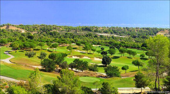 golfbanor i Spanien fastighetsvillor 06
