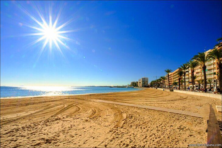 Fastigheter i Torrevieja 2021 del Cura strandfotografering