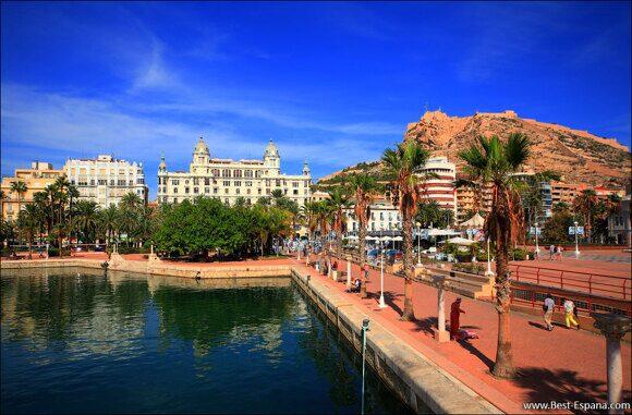 Alicante Spanien Costa Blanca 07