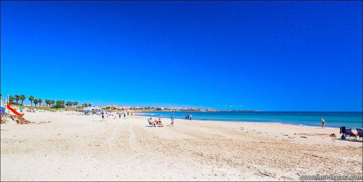 25-Sandstrand-in-Spanien Fotografie